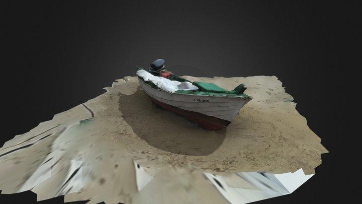 Barco Pescadores Baiona 3D Model