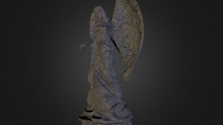 Graveyard Angel 3D Model