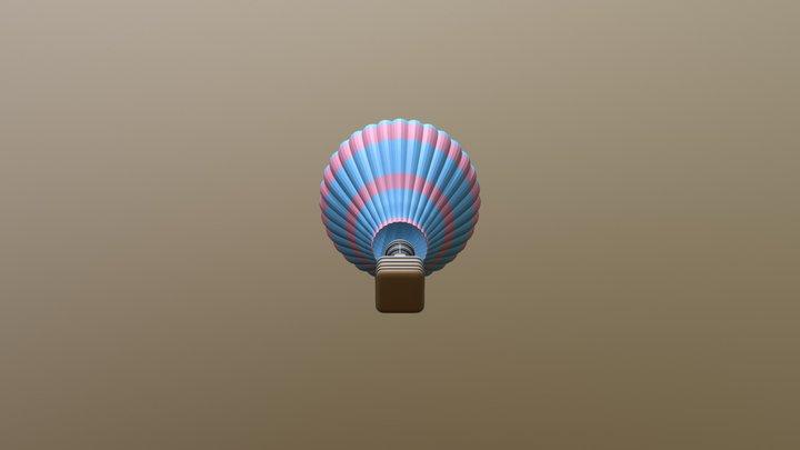 Mongolfiera_HotAirBalloon 3D Model
