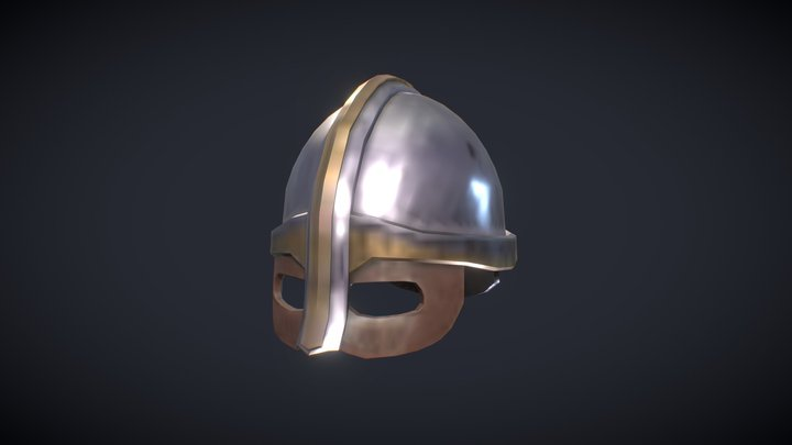 Viking helmet - Free Game assets 3D Model