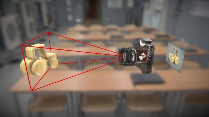 Φωτογραφική Μηχανή 3D Model
