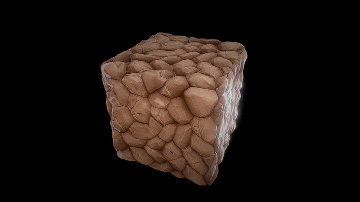 Ground Texture 3D Model