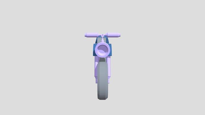 MOTORCYCLE 3D GAME ASSET (MODEL) 3D Model