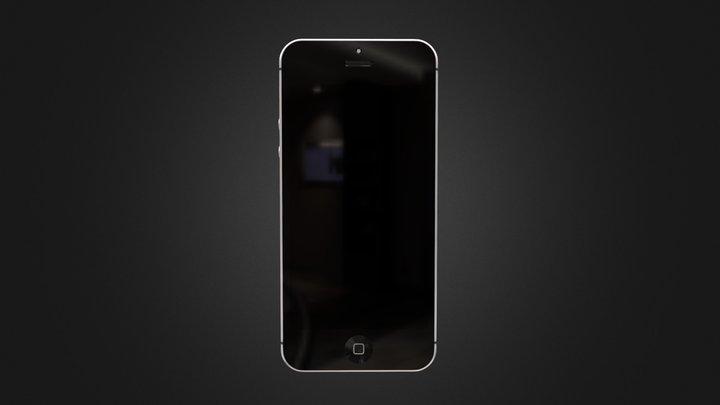 iPhone classic - Concept art 3D Model