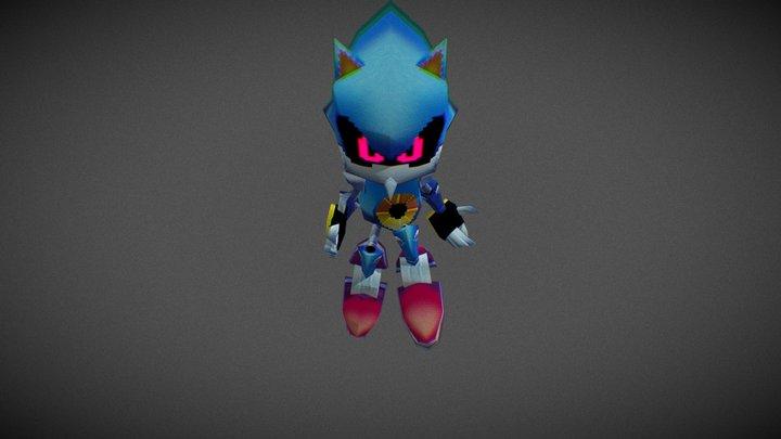 Classic Metal Sonic 3D Model