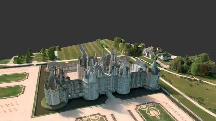 Glitched Chambord 3D Model