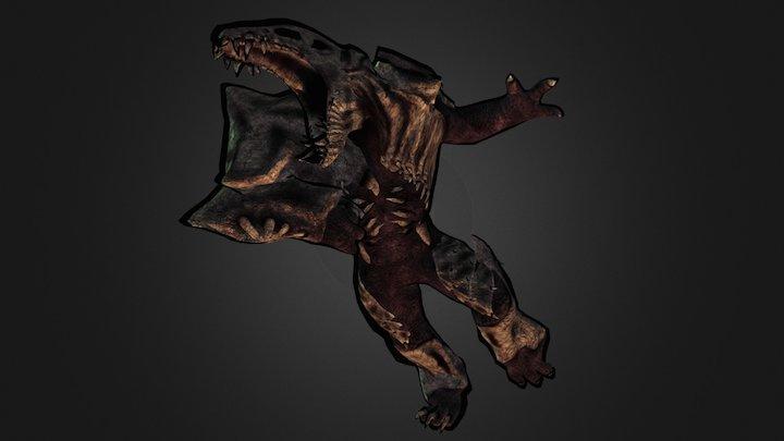 Plasmo Rex 3D Model
