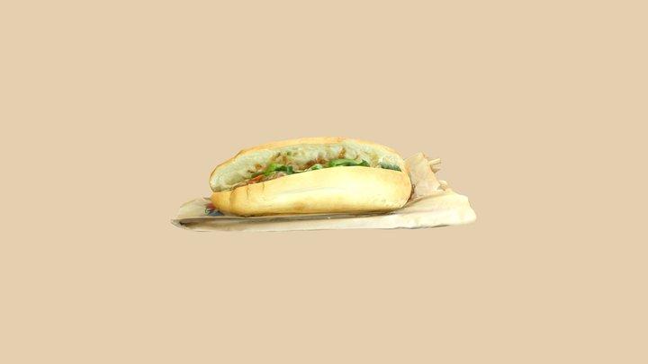 Bánh Mì 3D Model