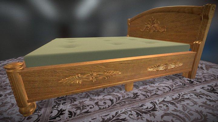 Bed Decor 3D Model