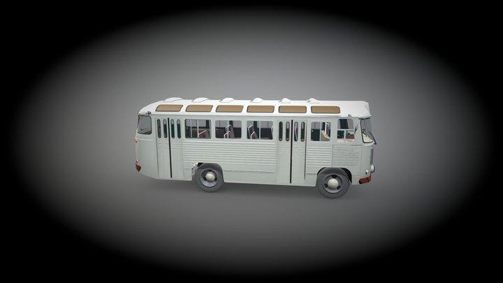 ПАЗ-652 3D Model