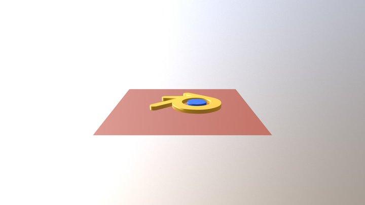 Logo Blender 3D Model