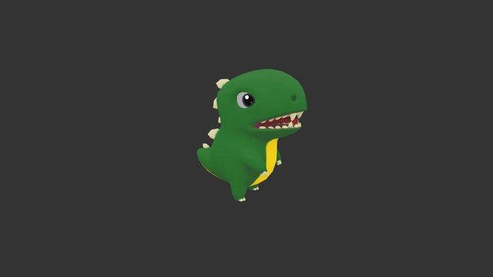 Little Rex 3D Model