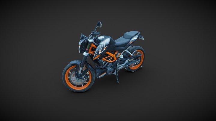 KTM Duke 3D Model