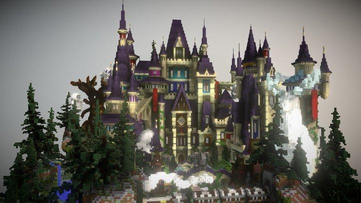 Garry Castle Spawn | Lobby 3D Model