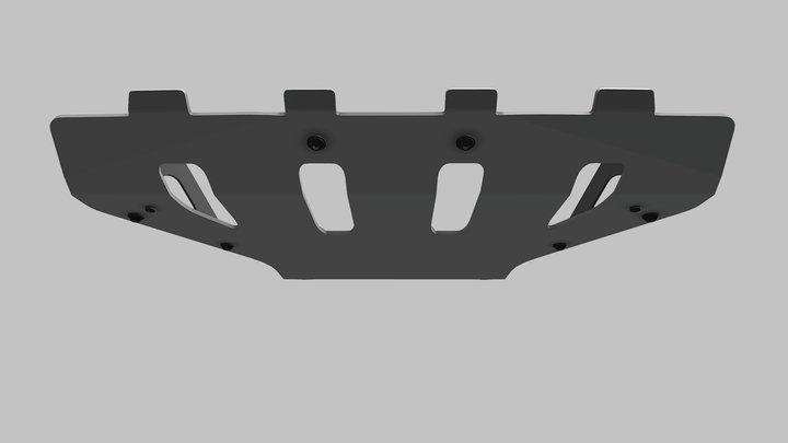 Защита двигателя Chevrolet Niva SE 3D Model