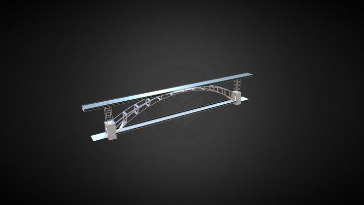 Porto - Ponte D. Luís 3D Model