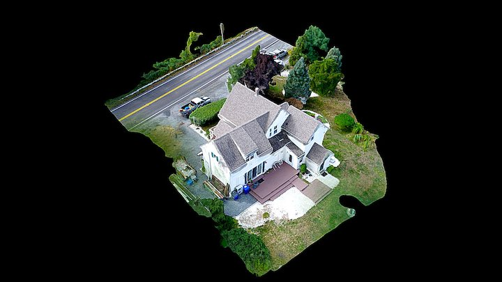 Residence Simplified 3d Mesh 3D Model