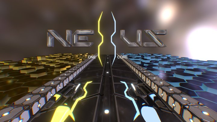 Nexus : One Core title Screen 3D Model