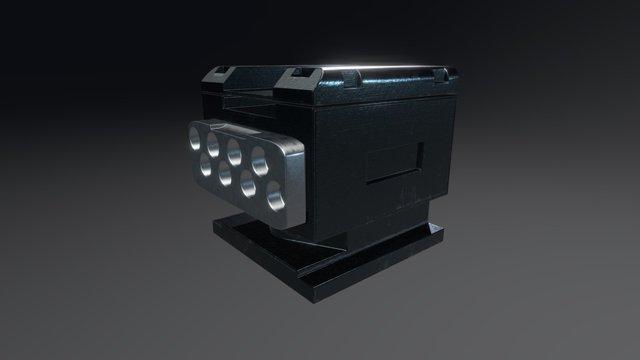 Mysterious Steel Element 3D Model
