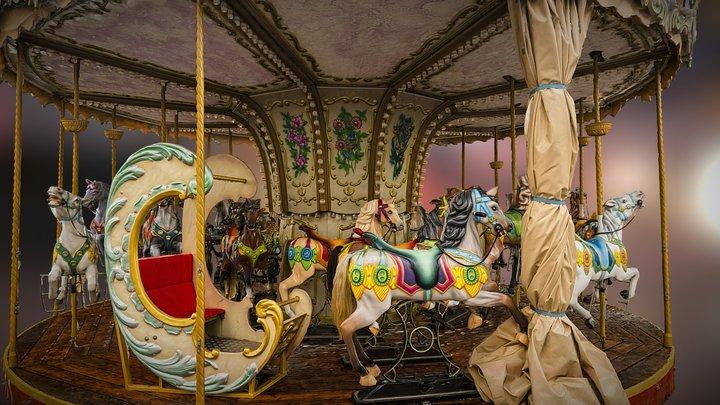 carousel / carrusel scan 3D Model