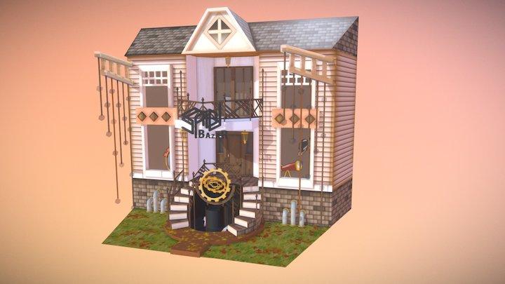 Bazar Steampunk 3D Model
