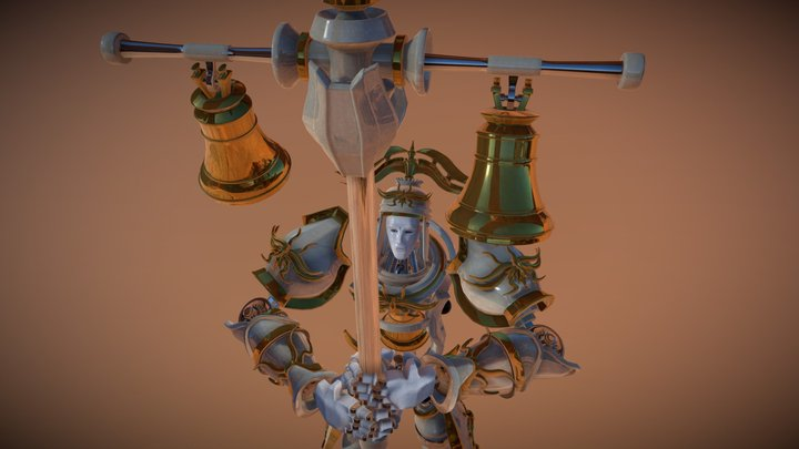 Bell Knight 3D Model