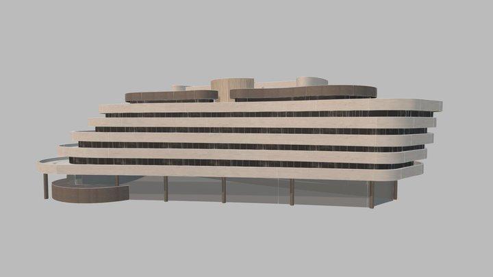 Asia House- Tel Aviv 3D Model