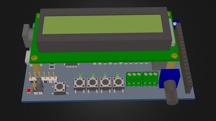 E4k 3D 3D Model