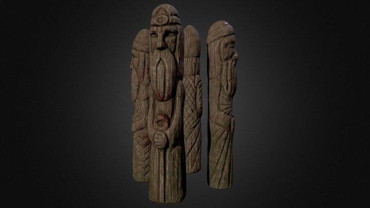 Pagan Totem 3D Model