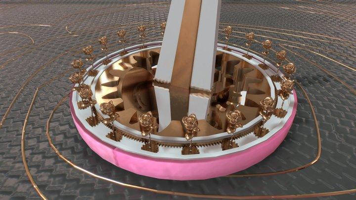 Plaza / Day 2 3D Model