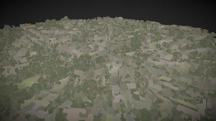 Faringdon Town Centre 3D Model