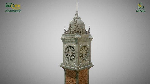 Paranapiacaba - Clock Tower (Low-Poly) 3D Model