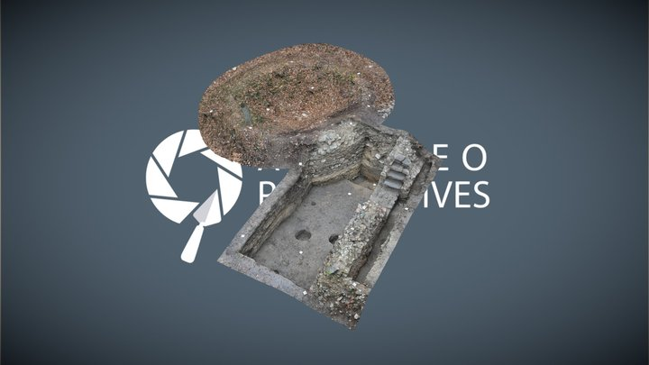 Burg   Grabungsfläche F02 #6 3D Model