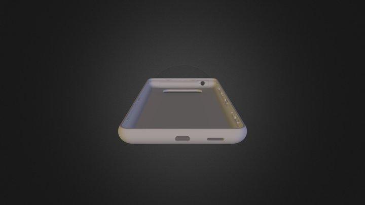 Nokia Lumia 820 Case 3D Model