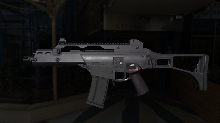H&K G36C SMG 3D Model