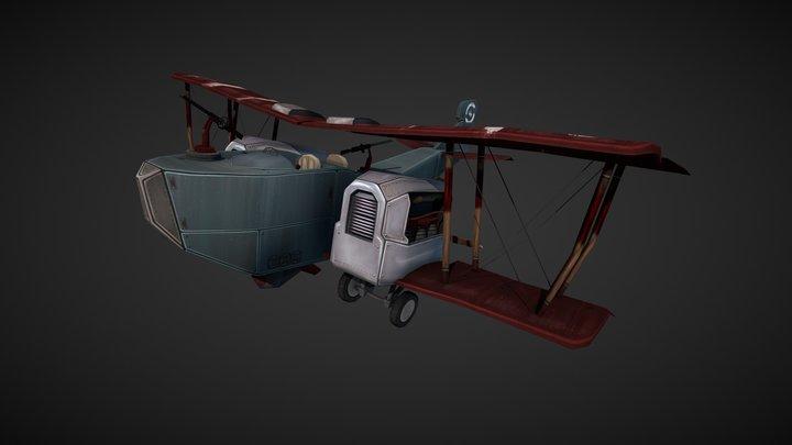 Gotcha! Gotha Bomber 3D Model