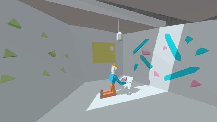 Room01 3D Model