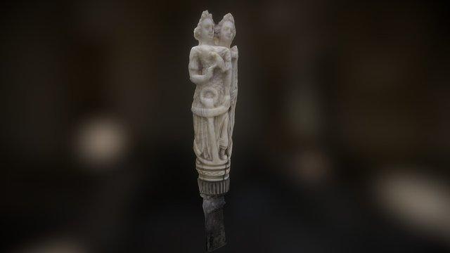 Ivory knife handle 3D Model