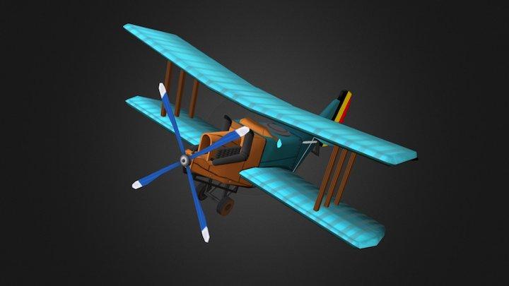 1DAE12_Witters_Nick_GameArtPlane 3D Model
