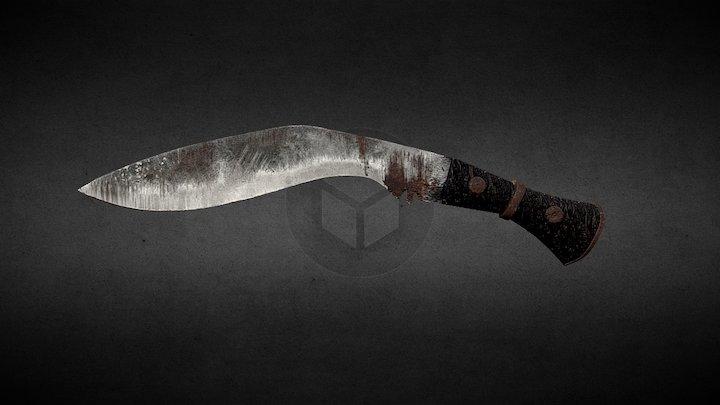 Ancient knife 3D Model