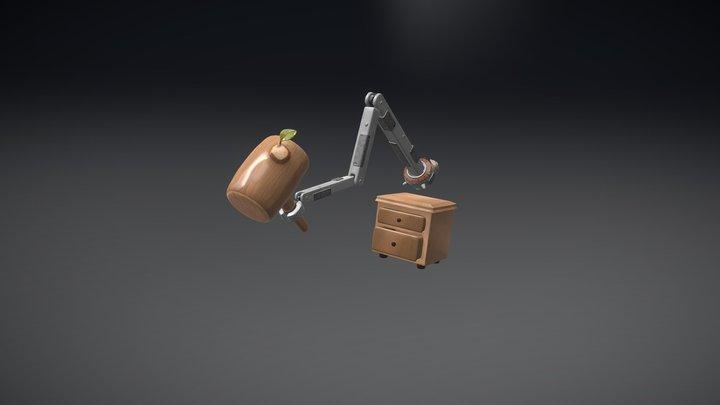 Ilustración 3D  3D Model