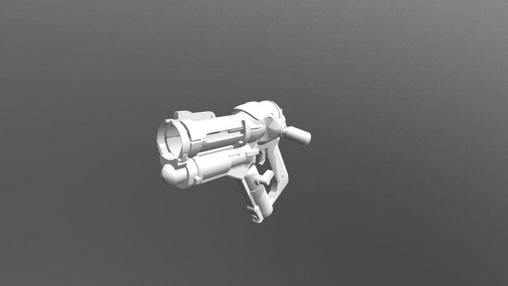Mei Blaster 3D Model
