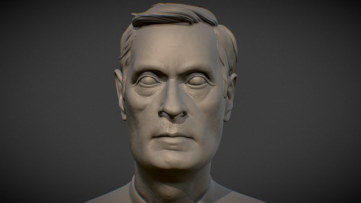 Head Study 3D Model