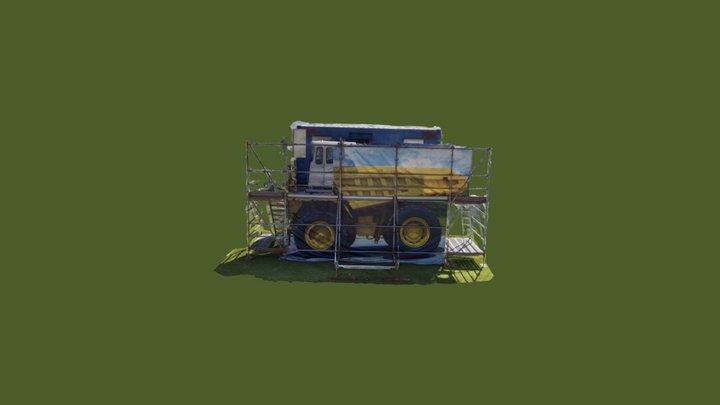 Merc 2018 Truck Resuce 3D Model