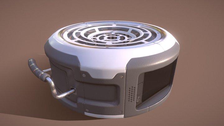 Аtmospheric Аnalyzer [Game-Ready] 3D Model