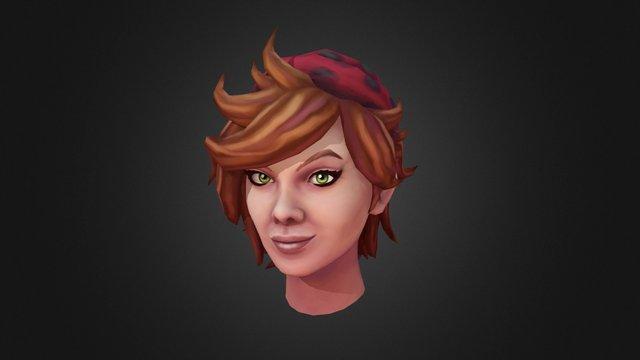 Runescape Magda 3D Model