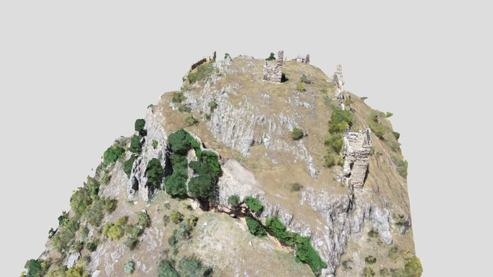 Castillo de Cotillas 3D Model