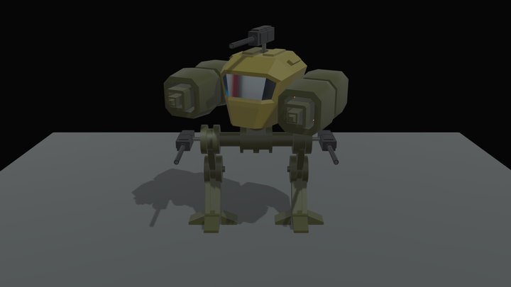 My first Blender project 3D Model