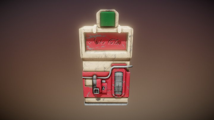 Nuke Cola Machine / Maquina de Nuke Cola 3D Model