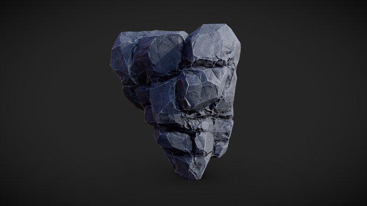 A Rock 3D Model